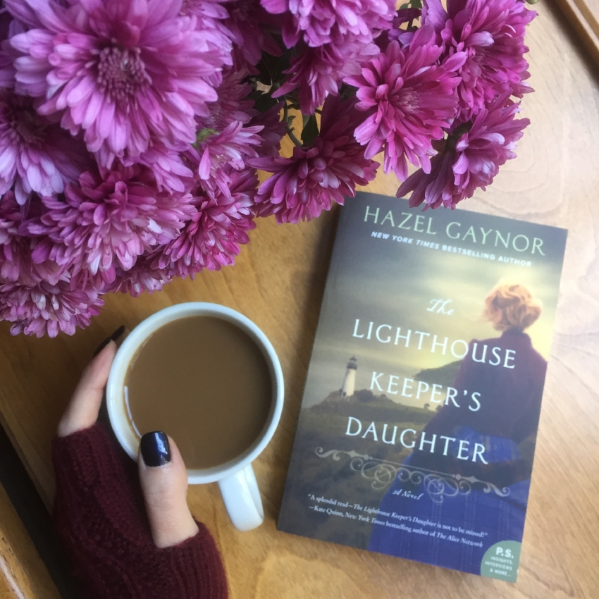 Book Review for THE LIGHTHOUSE KEEPER'S DAUGHTER by Hazel Gaynor