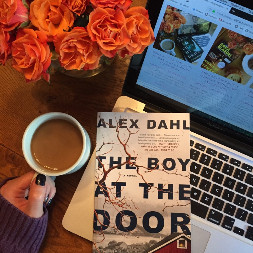 Book Review for THE BOY AT THE DOOR by Alex Dahl