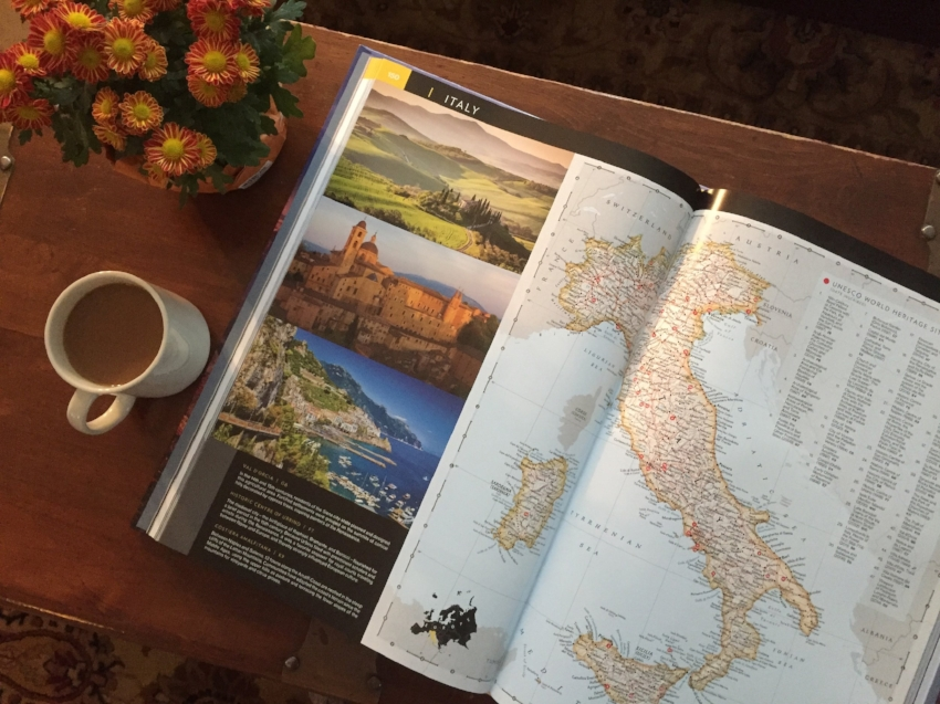 Tour the world with National Geographic's Visual Atlas