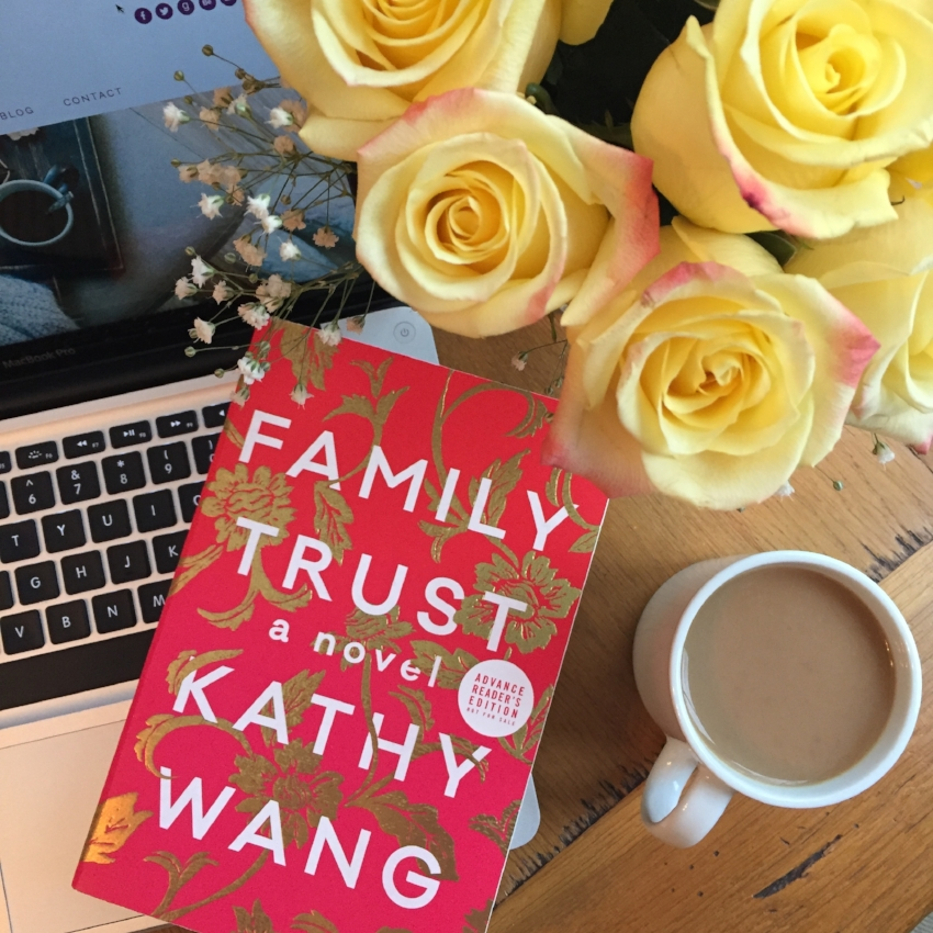 Book Review for FAMILY TRUST by Kathy Wang
