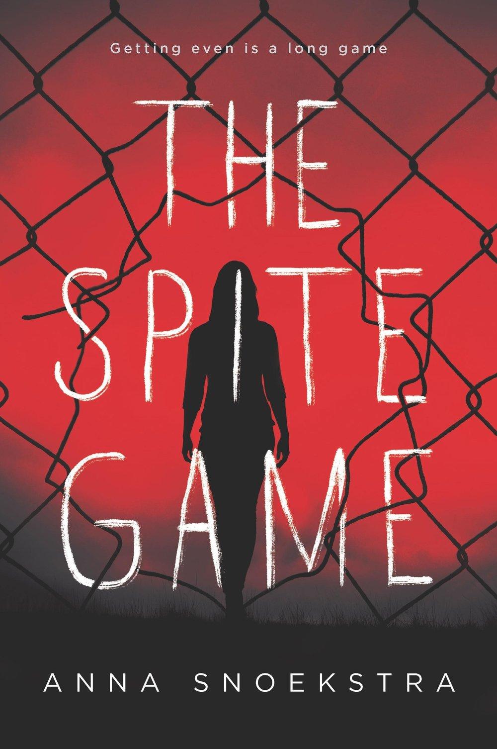 THE SPITE GAME by Anna Snoekstra