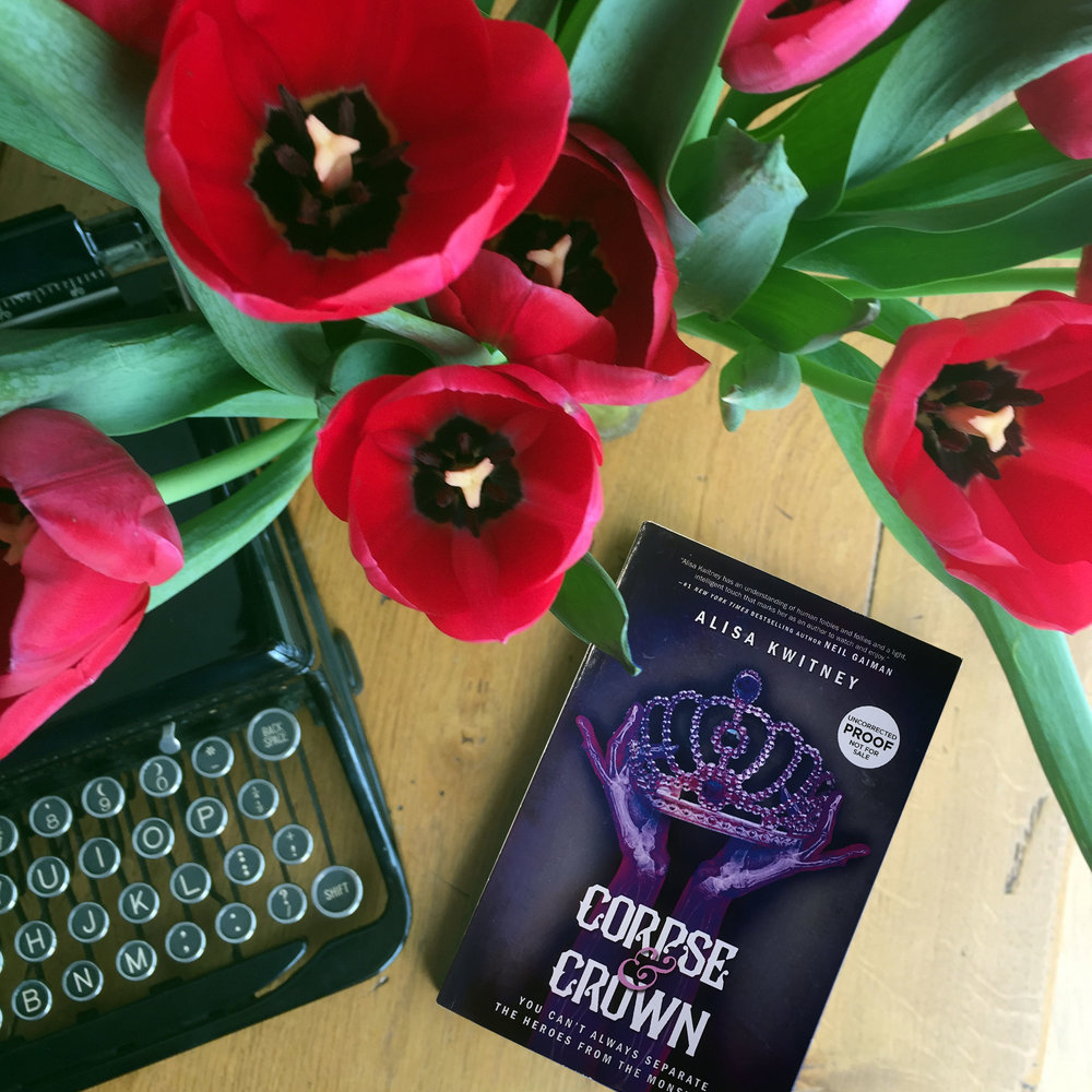 Book Review for CORPSE & CROWN by Alisa Kwitney