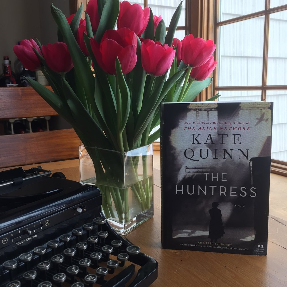 Book Review for THE HUNTRESS by Kate Quinn