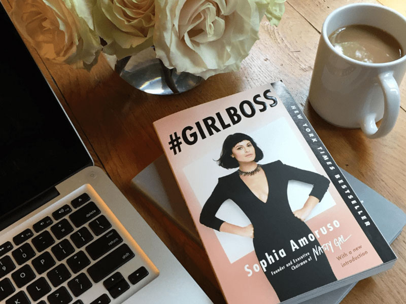 What she reads if she loves #GIRLBOSS