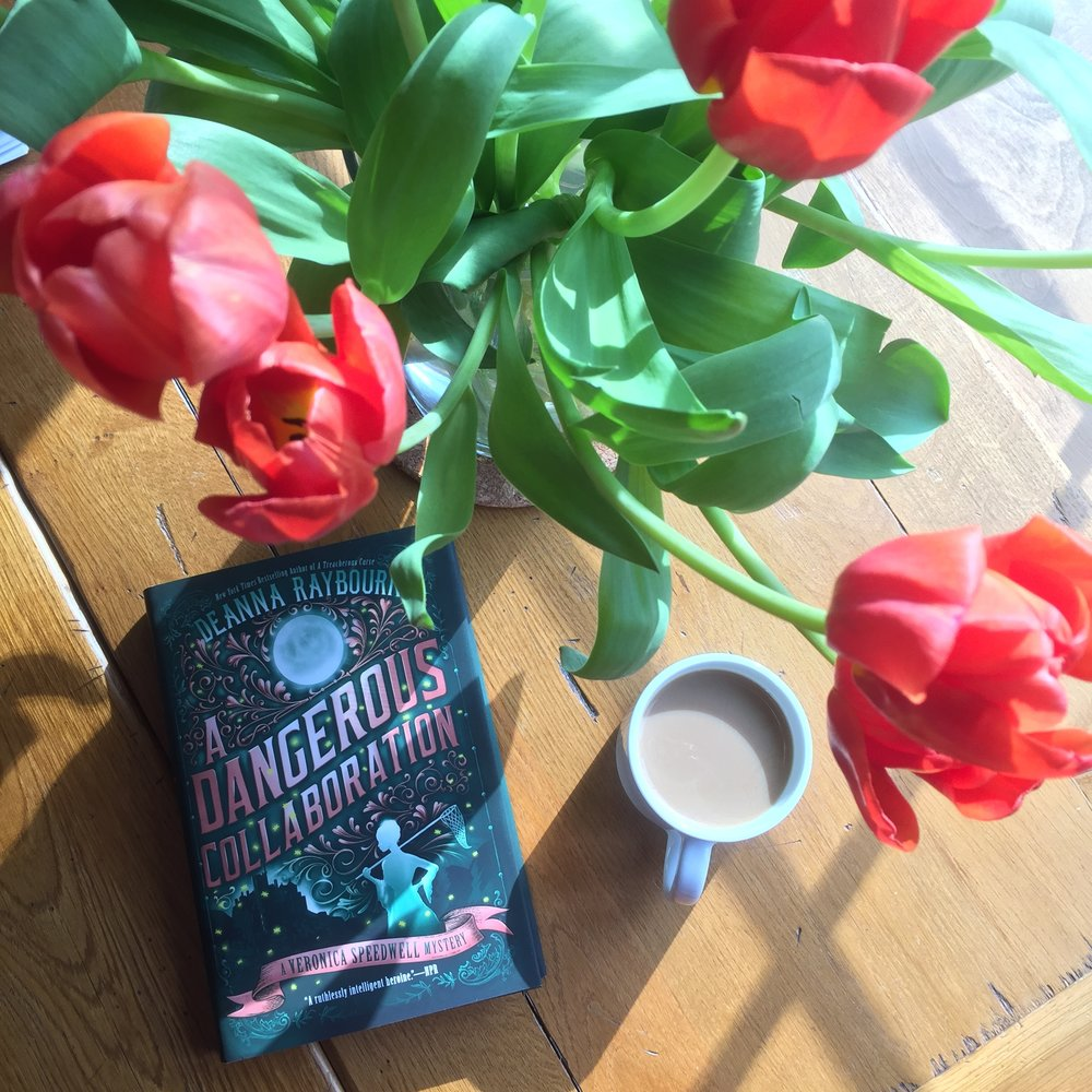 Book Review for A DANGEROUS COLLABORATION by Deanna Raybourn