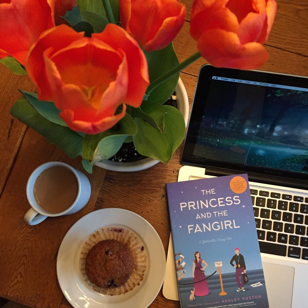 Book Review for THE PRINCESS AND THE FAN GIRL by Ashley Poston