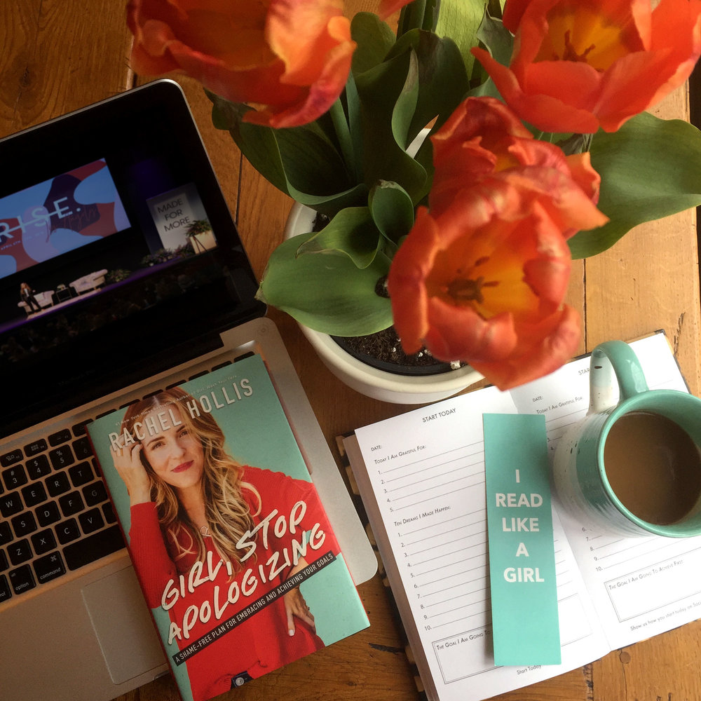 Book Review for GIRL, STOP APOLOGIZING by Rachel Hollis