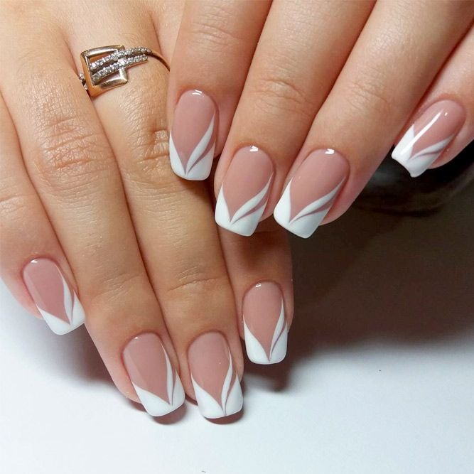 french-nail-design-best-20-french-manicure-nails- - Special Deal Manicure — %nail In Magnolia