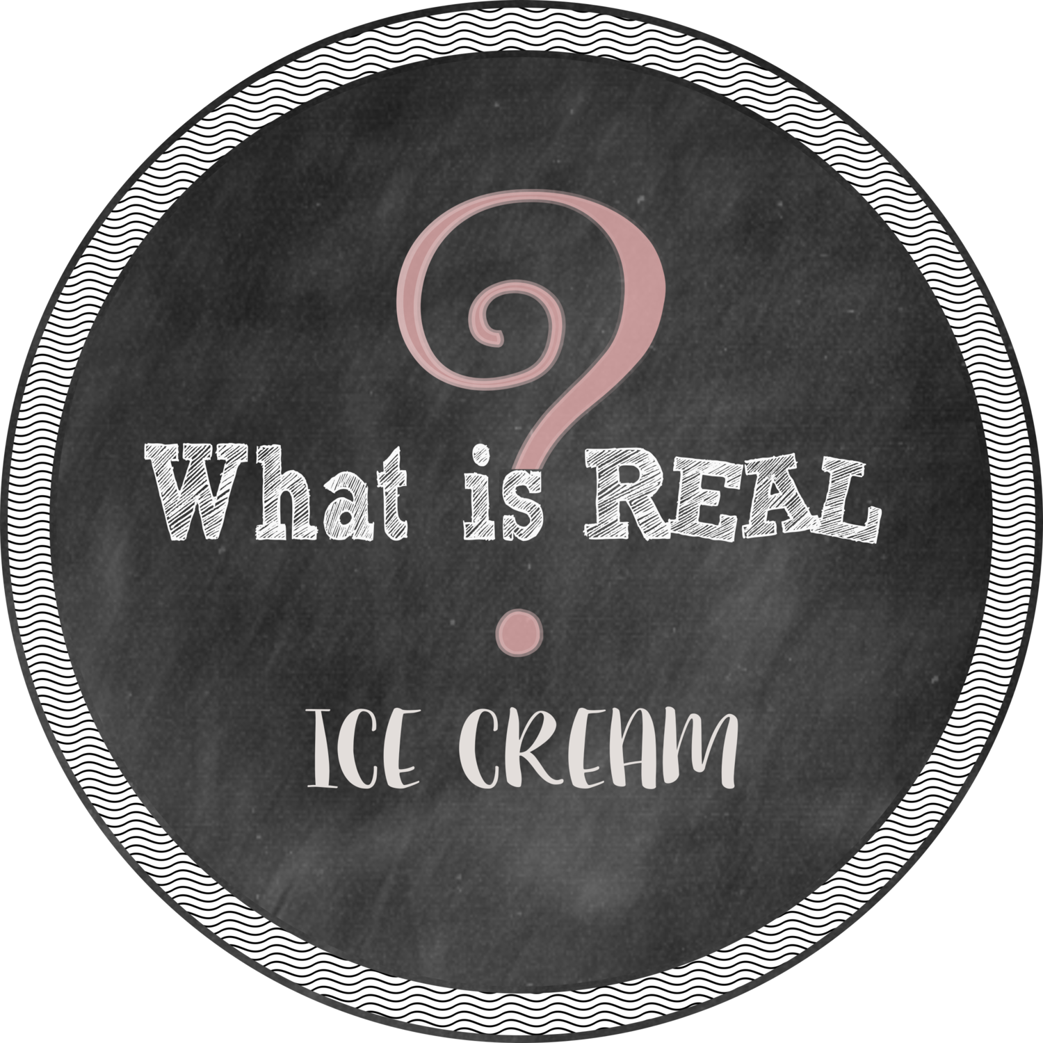 What is Real? Ice Cream