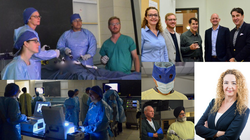 "Advanced Workshop on Gynecologic Laparoscopic Anatomy  - Fundamentals of surgery, including laparoscopic anatomy, dissection, and suturing, were taught at the ""1st Advanced Workshop on Gynecologic Laparoscopic Anatomy and Surgical Treatment of Apical Prolapse"" at UBC on Sep 29-30, 2017. This two-day workshop, organized and chaired byDr. Fariba Mohtashami brought together a cohort of local and highly selected international faculty from as far away as Cape Town, Louisville and Virginia, many having also taught at IUGA and AGGL workshops.December 4, 2017."