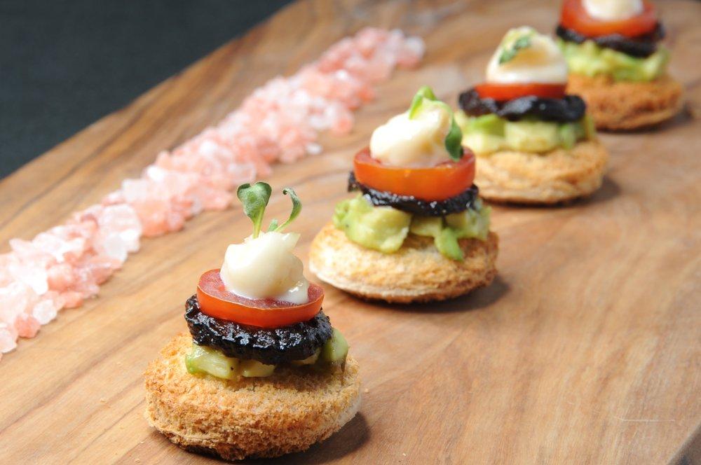 Pink Salt Cuisine - Roasted Eggplant BLT
