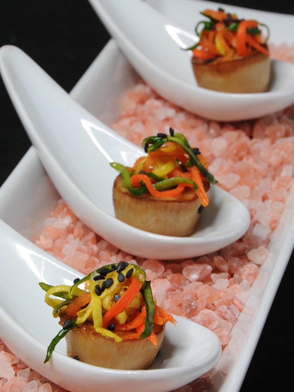 Pink Salt Cuisine - Glazed Mushroom Appetizer