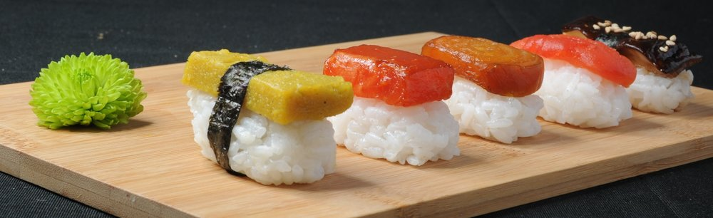 Pink Salt Cuisine - Signature Plant-Based Sushi