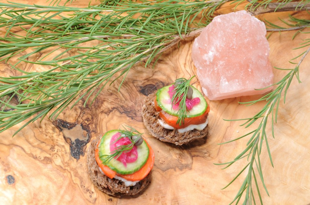 Pink Salt Cuisine - Carrot Lox