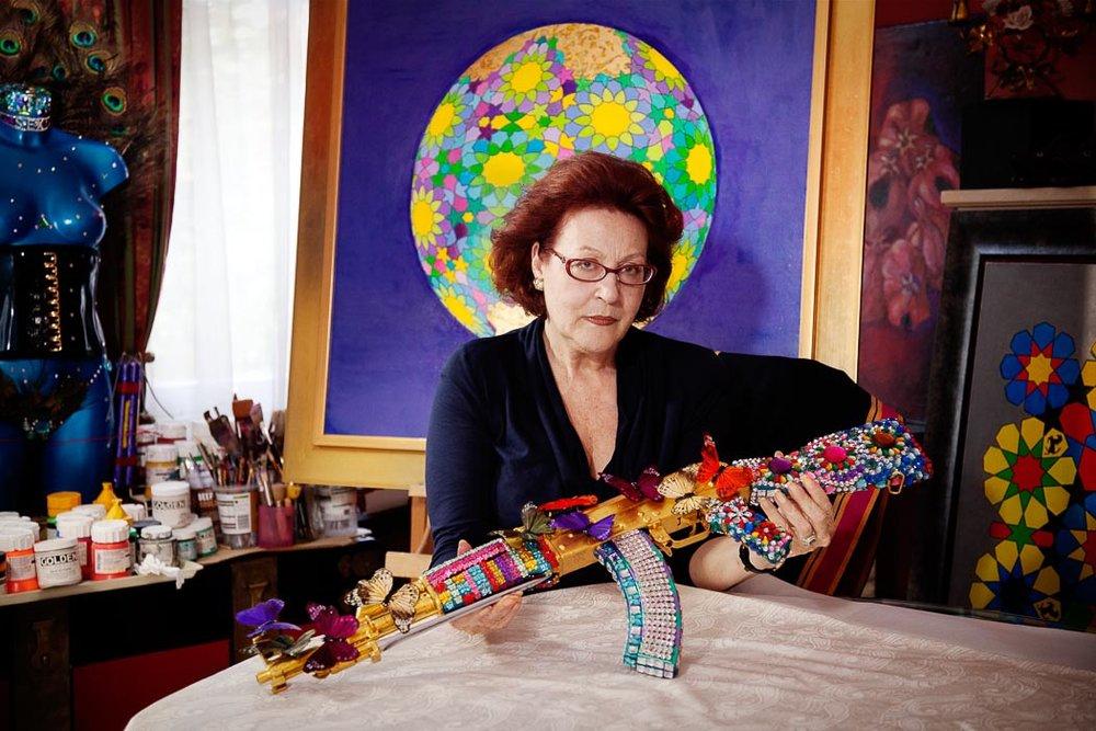 Laila Shawa - Occupation: visual artist