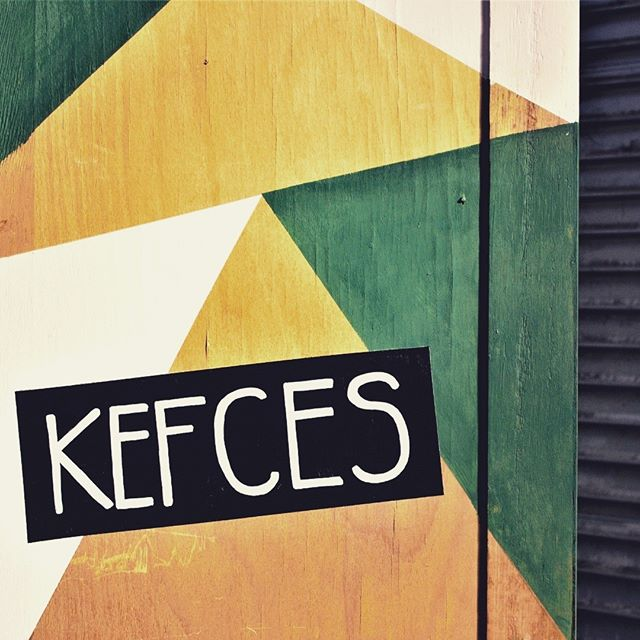A quick bit of lettering I did for my french friends at KefCes. They painted the door, and I drew up the typography! ^_^  Check out Ugo and Alice's travel channel over at KefCes on Youtube!
