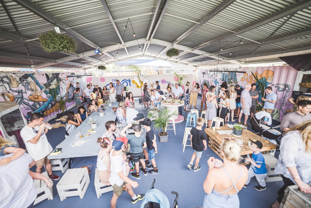 Garden Bar - Suitable for 30 - 70 People
