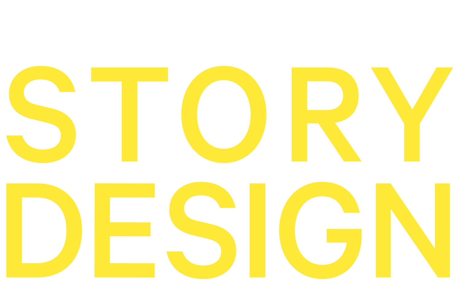 Basics of Story Design