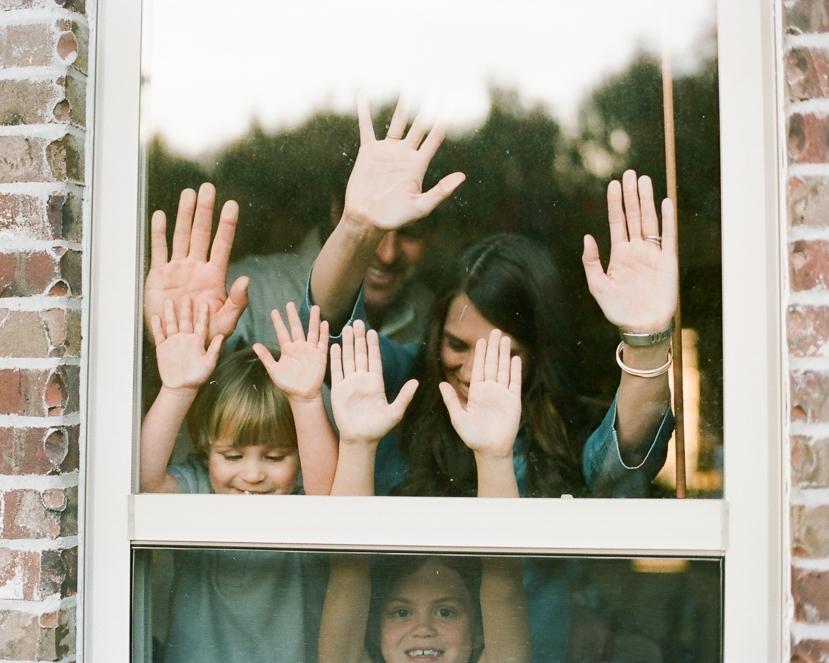 Family Photos with Heart -