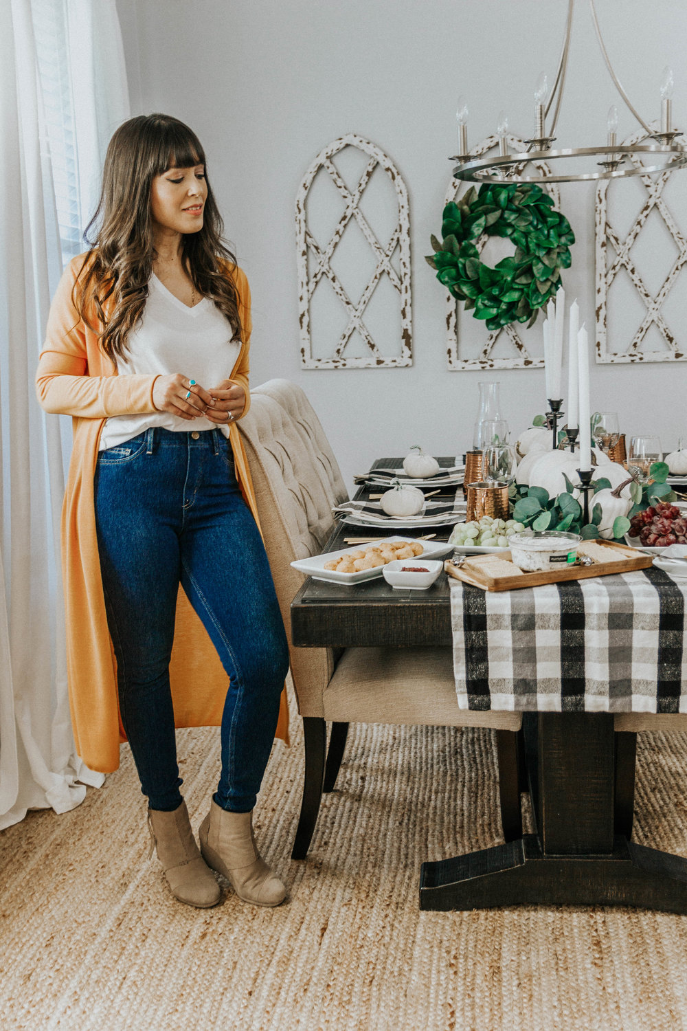 Thanksgiving table decor Spanglishfashion