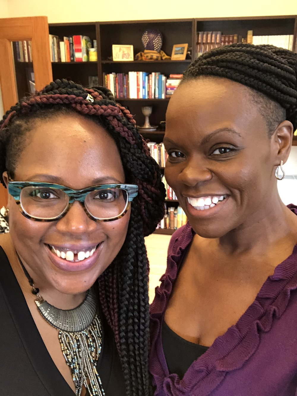 (Btw, Theresa is not simply the Chaplain, she is a fierce, intelligent, beautiful, spiritual, preaching, teaching, Girl Trekking sister who embodies Black Girl Magic and will sprinkle some on you if you are ever in her presence.)
