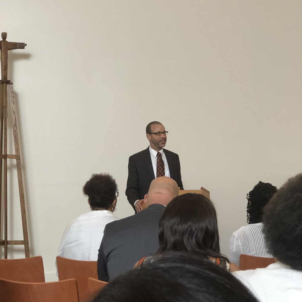 """Rev.Frank Thomas, PhD kicked off the conference with his keynote, """"Publishing in Color: I Write to Stay Sane"""""""