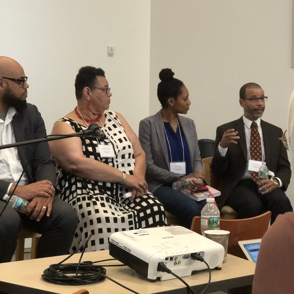 The tables were turned when the several authors were able to express what African-American writers need from agents, editors, and publishers.