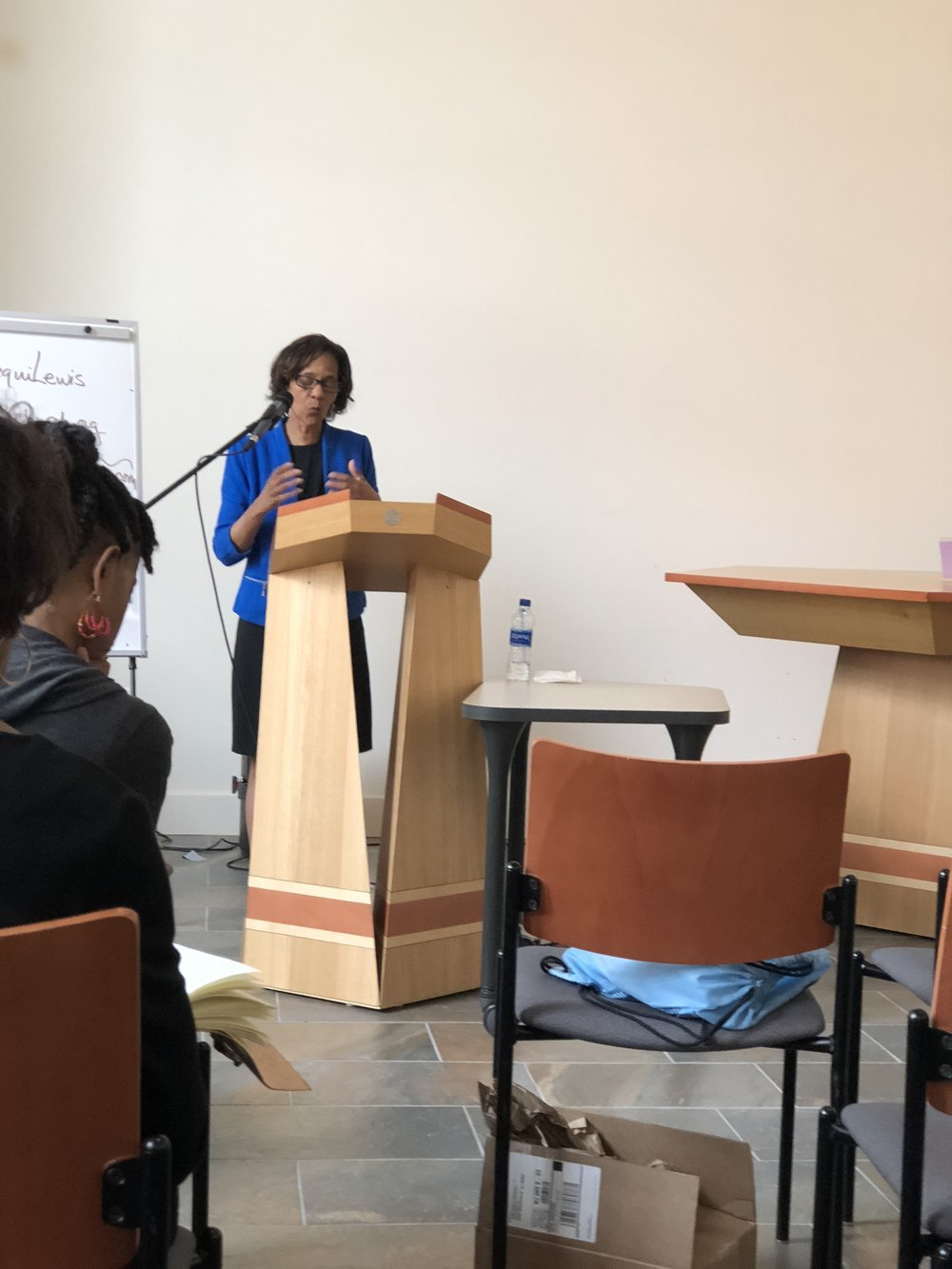 """Rev. Cheryl Price, PhD of Urban Ministries closed the conference with her keynote, """"Writing Matters"""""""