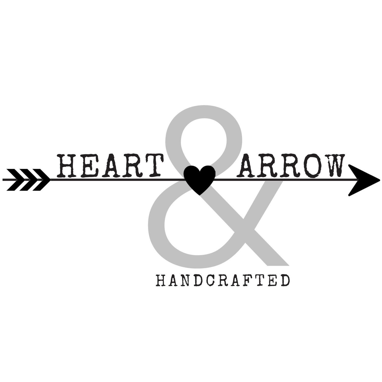 heart arrow handcrafted