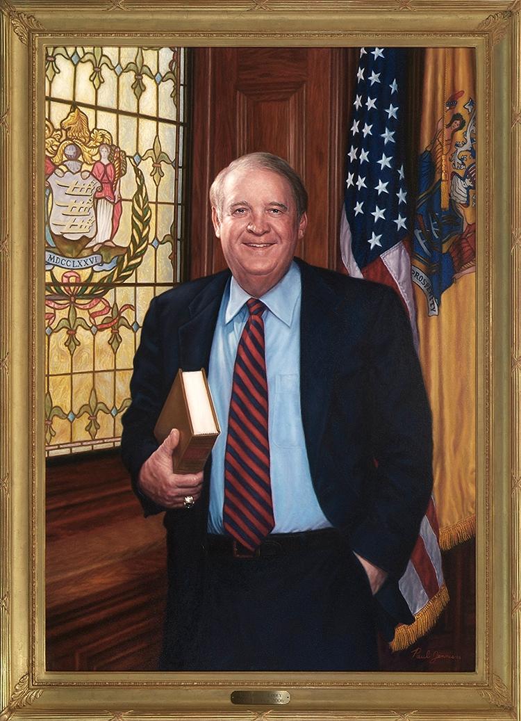 NJ Governor Codey, official portrait