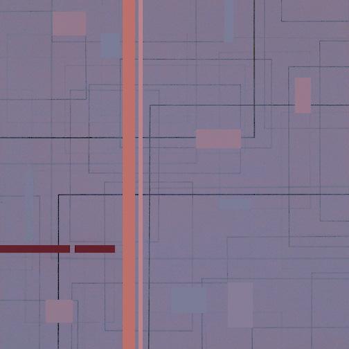 "Color Theory 8  Acrylic on Hardboard  12"" x 12""  2005"