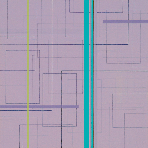 "Color Theory 11  Acrylic on Hardboard  12"" x 12""  2005"