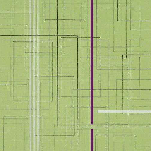 "Color Theory 13  Acrylic on Hardboard  12"" x 12""  2005"