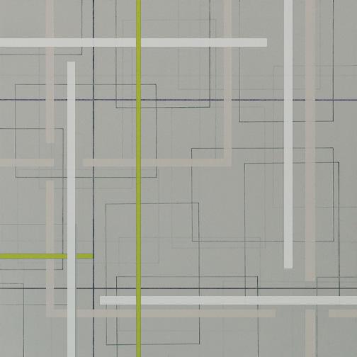 "Color Theory 23  Acrylic on Hardboard  12"" x 12""  2006"