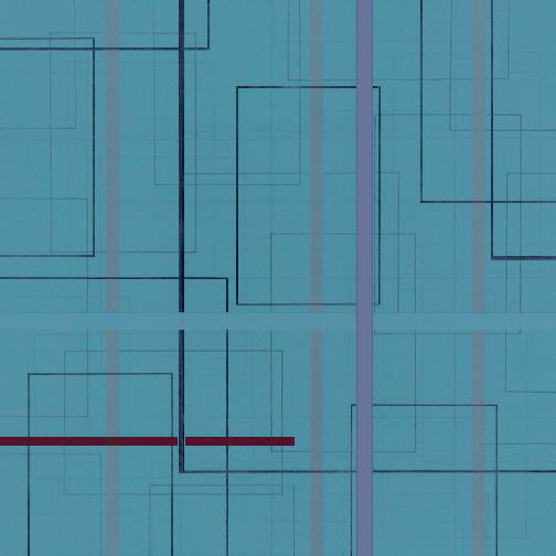 "Color Theory 24  Acrylic on Hardboard  12"" x 12""  2006"