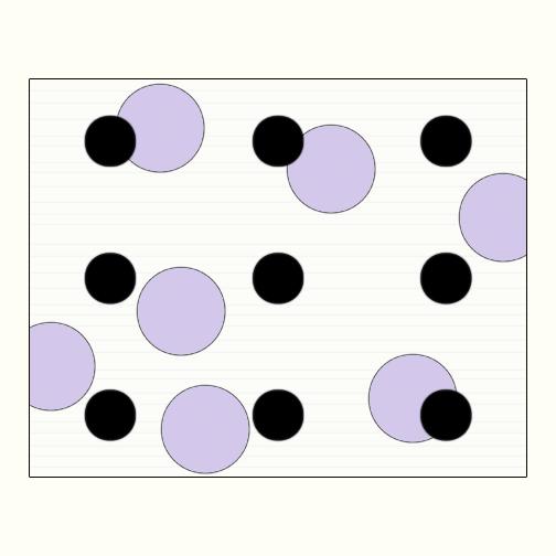 Polka Dot 2  Acrylic on Hardboard