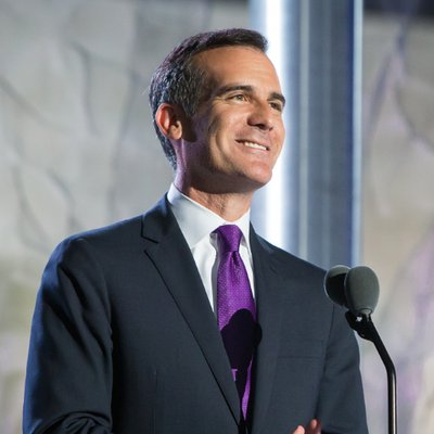 Mayor of Los Angeles Eric Garcetti