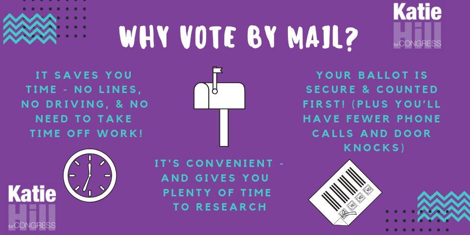 Any additional questions about voting by mail? - LA County: click here.Ventura County: click here.