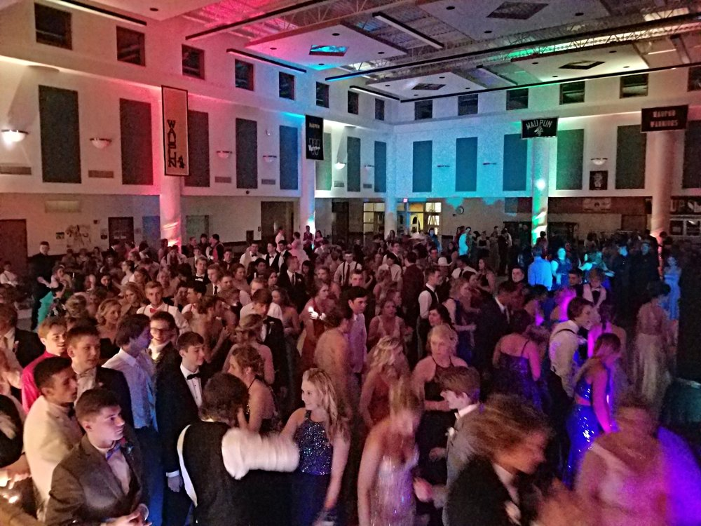 Waupun HS prom 2018