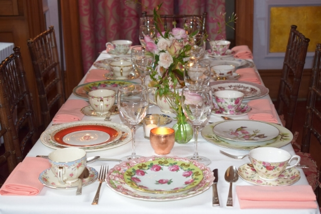 lady mendl describes itself as an unconventionally chic tea salon housed within a georgian brownstone this bridal shower option is classy and