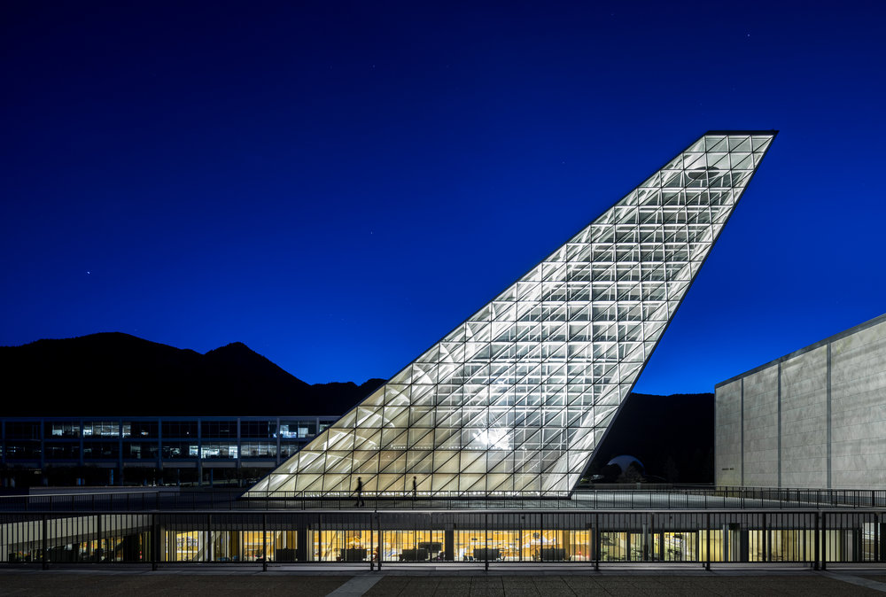 US Air Force Academy, Colorado Springs, CO   Skidmore, Owings & Merrill