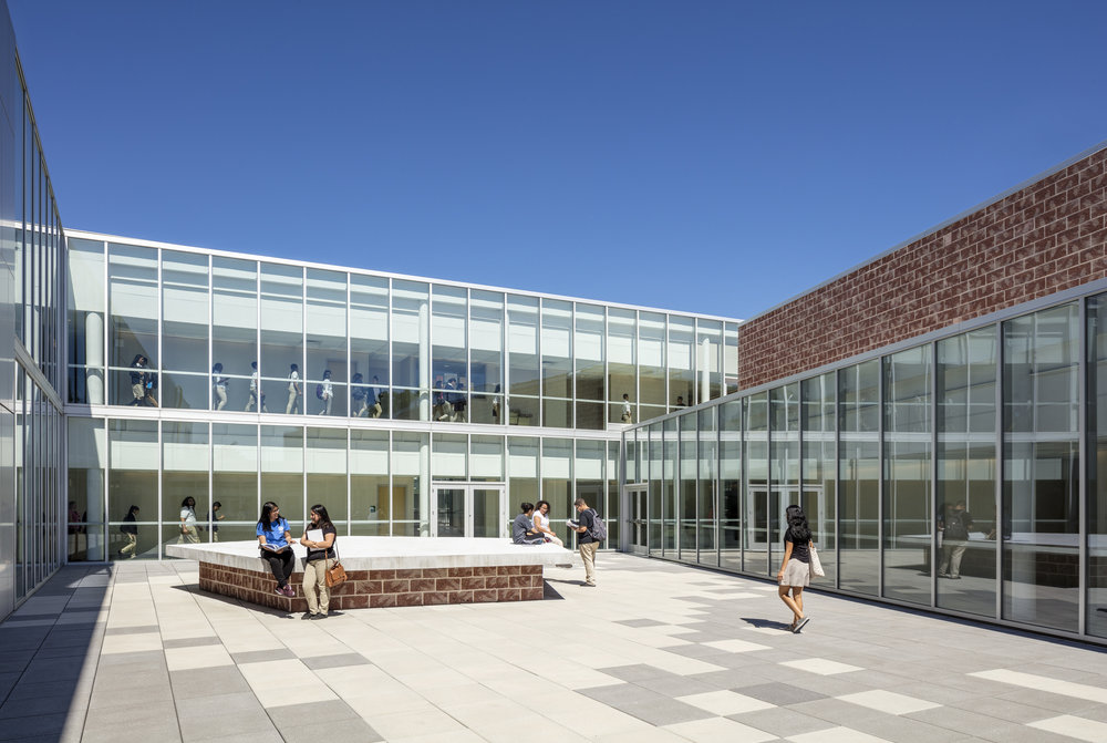 Elizabeth High School   Skidmore, Owings & Merrill