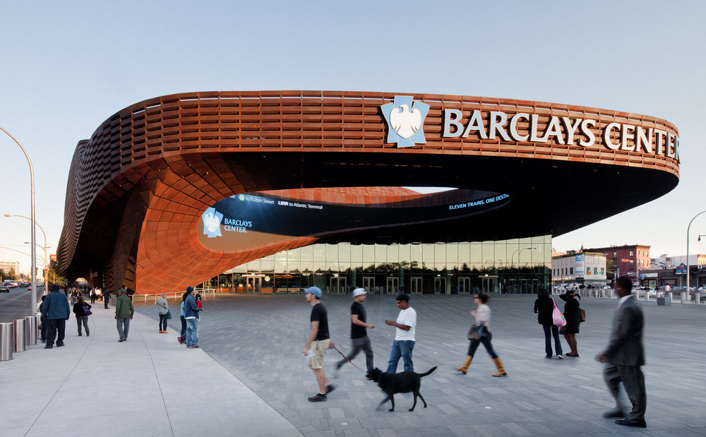 Barclays Center    S HoP Architects