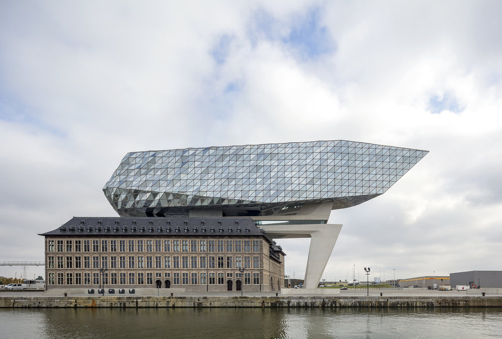 Port House, Antwerp, Belgium   Zaha Hadid