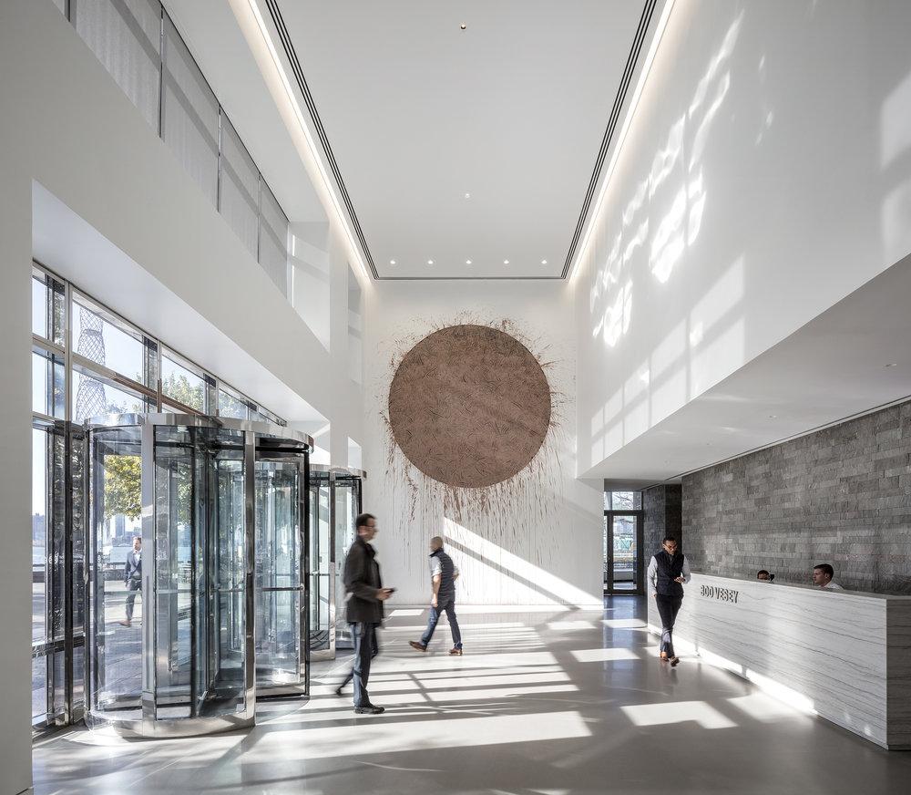NYMEx Lobby   Skidmore, Owings & Merrill