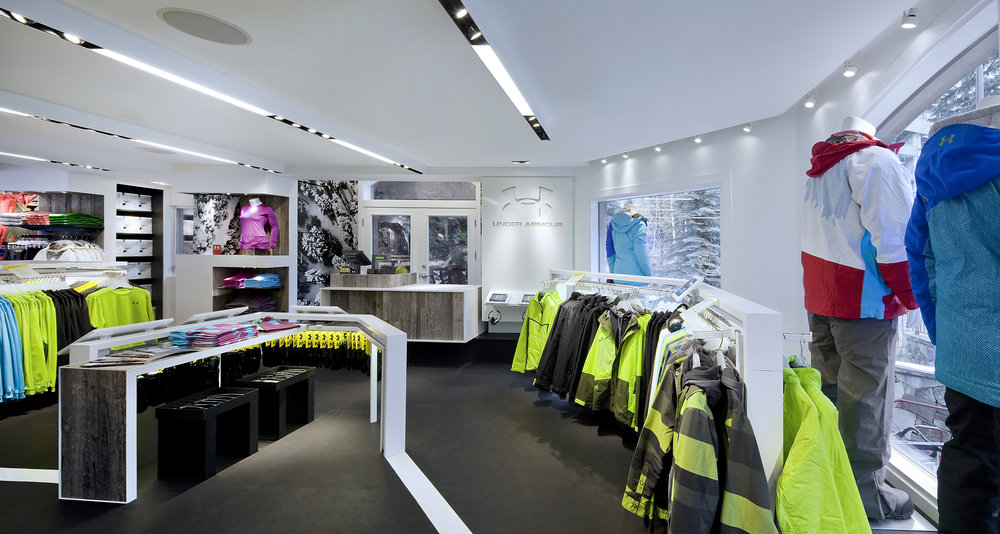 Under Armour Vail   Architecture + Information