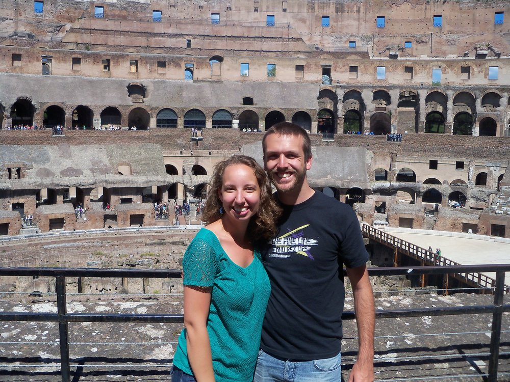 We used our Roma Pass to take the metro to the Colosseum and then skip the line and go right in!