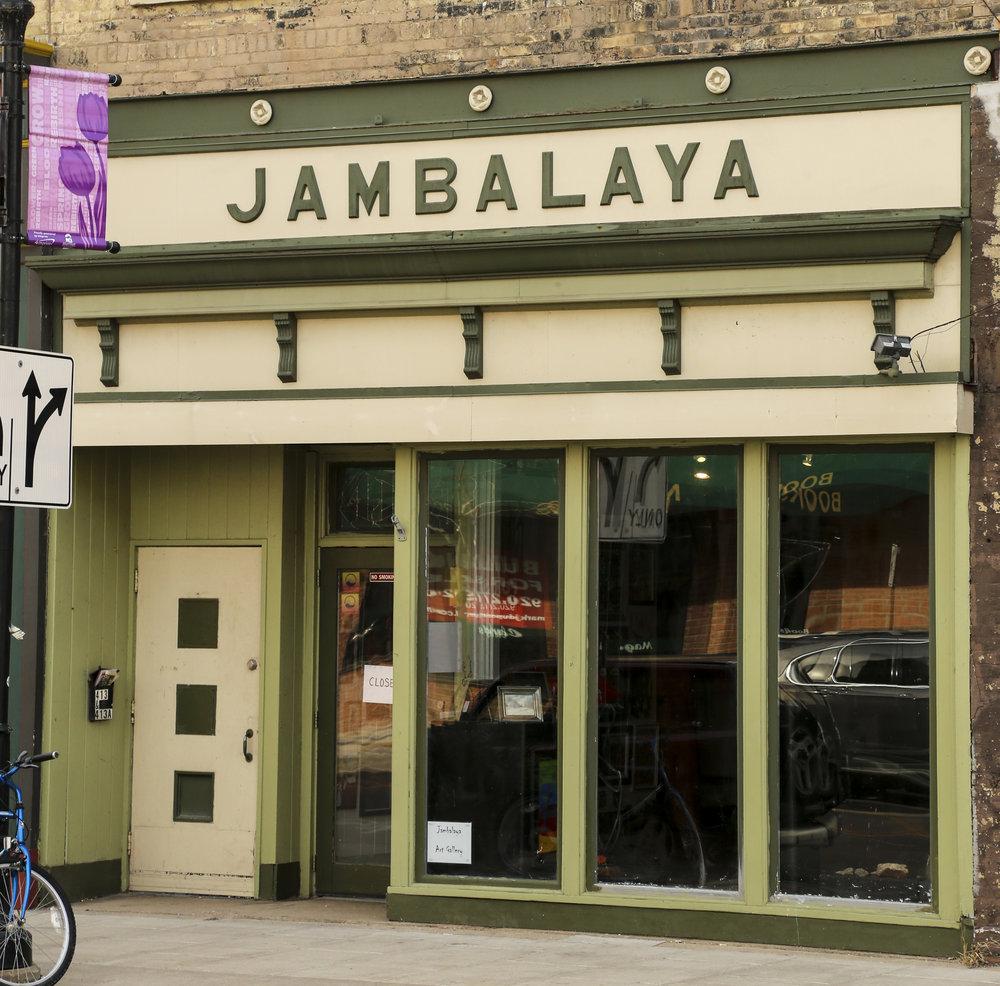 Jambalaya Arts Inc. - 413 N. Main StreetWednesday - Friday 2 - 6 pmhttp://jambalayaartsinc.wixsite.com/artfromwisconsinlink to map