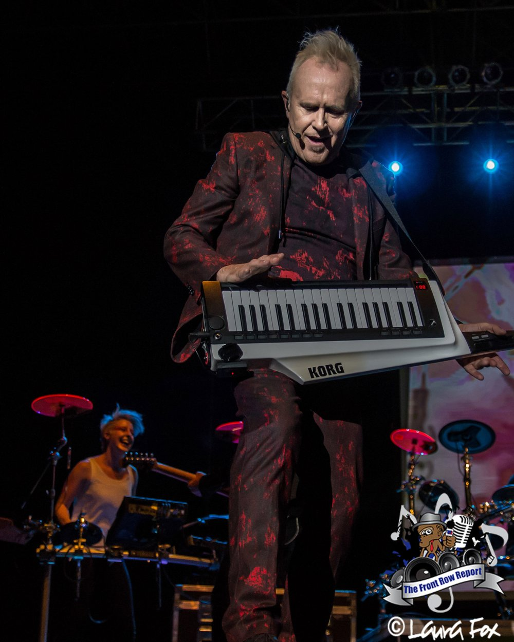 Howard Jones at The Lawn at White River, Indianapolis, 2017