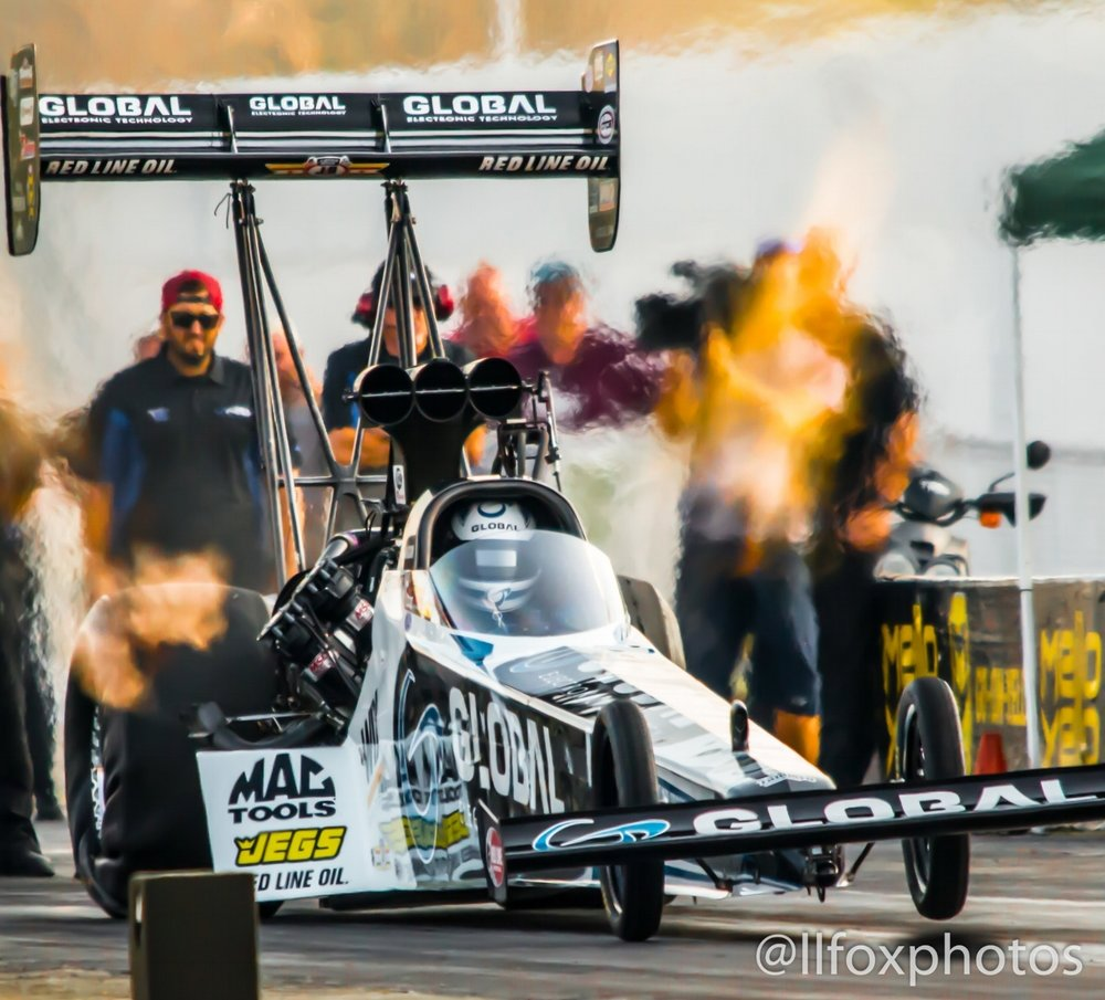 Team Kalitta, NHRA Test Day, Indianapolis, 2017